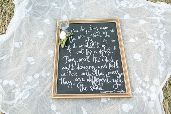 words on beach- Northern Ireland wedding photographers