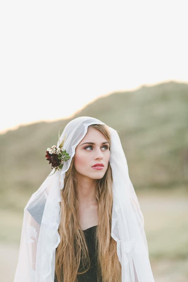creative styled wedding shoot in northern Ireland