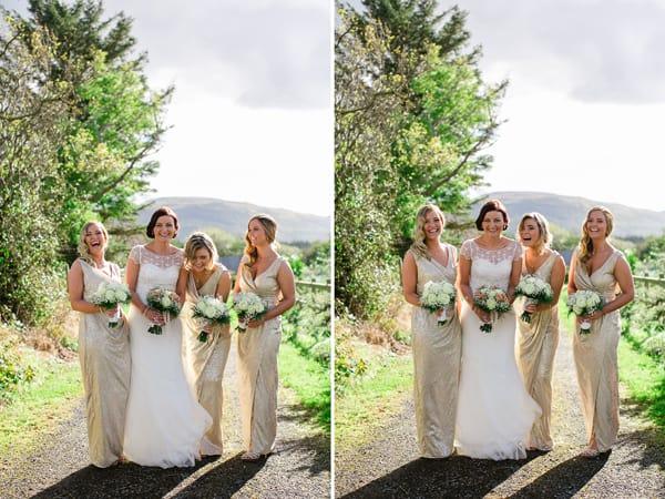 Bridesmaids-wedding photography Ireland
