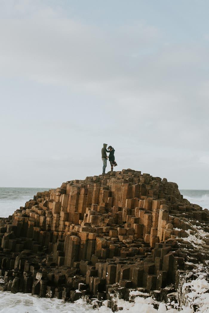giants causeway northern ireland wedding-2