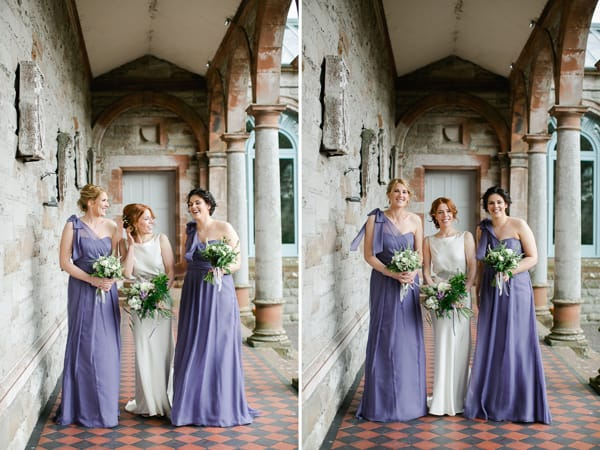 Bridesmaids irish wedding