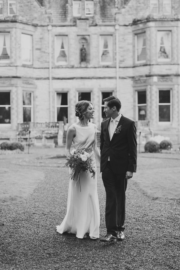 Leanne & David-castle leslie wedding