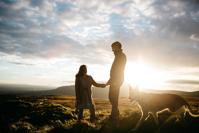 cave hill engagement photography-38