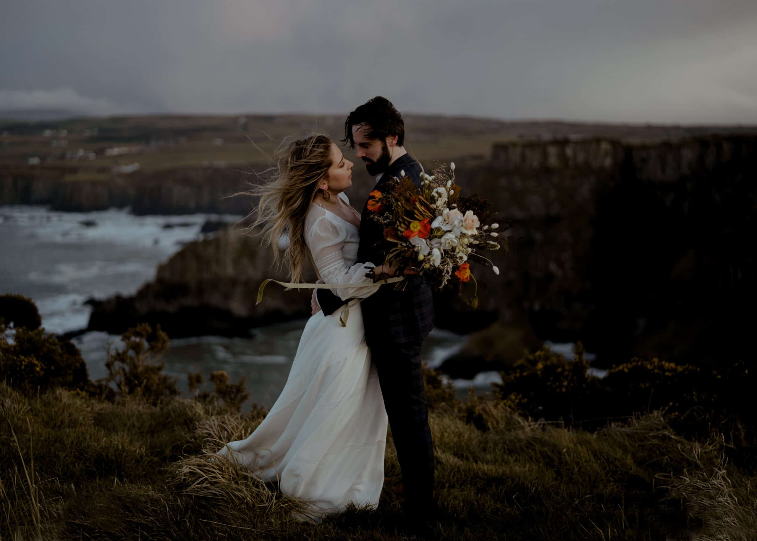 Ireland elopement - Karen and David