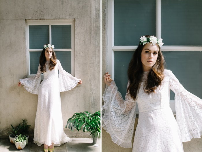 editorial wedding styled shoot