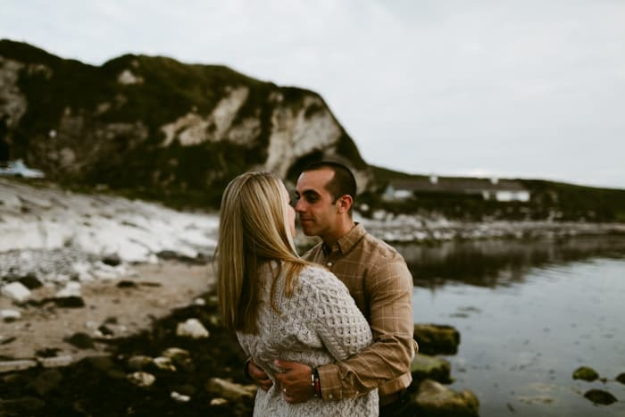 ballintoy harbour wedding photography