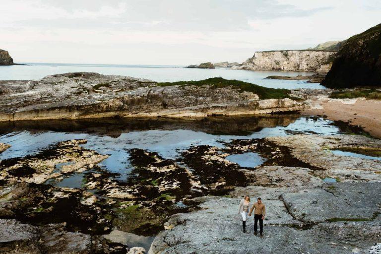 Alexis and Matt – Ballintoy Harbour