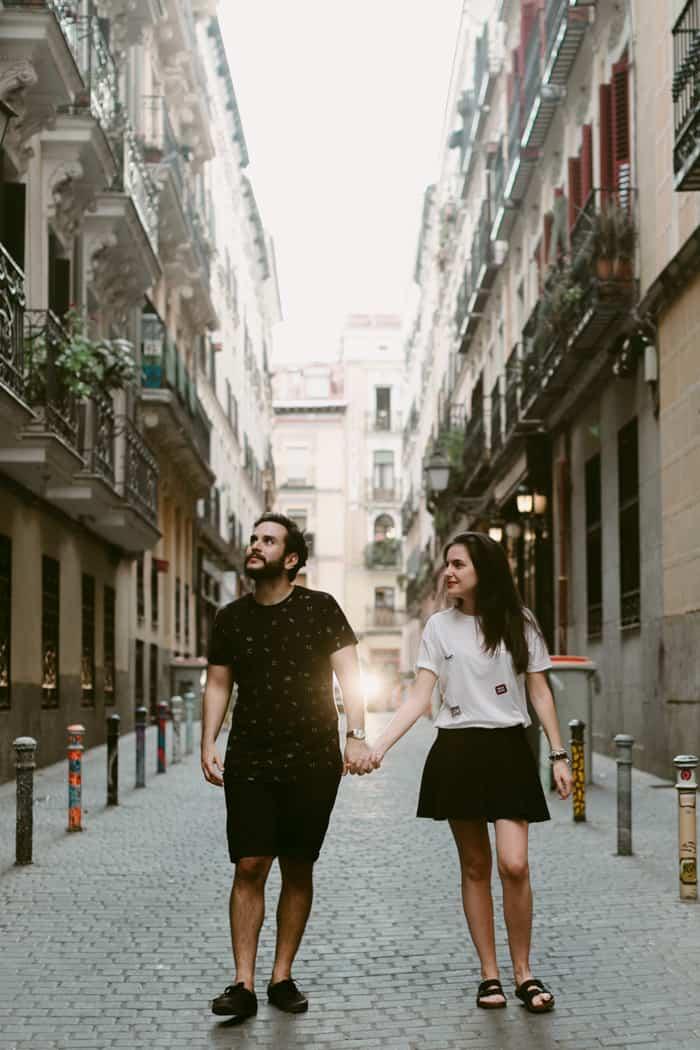 Hernan and Eila - Madrid wedding photographer