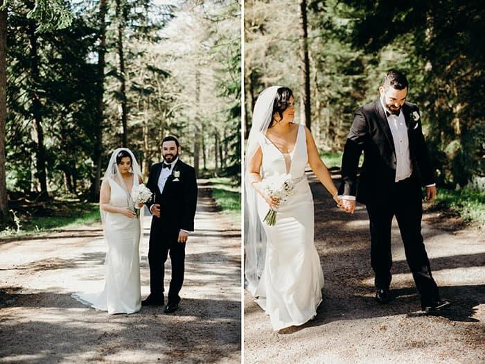 forest wedding ireland