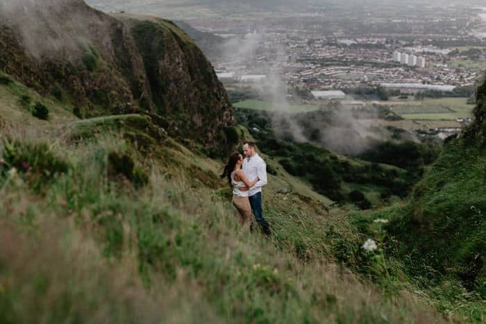 Cave hill Engagement shoot