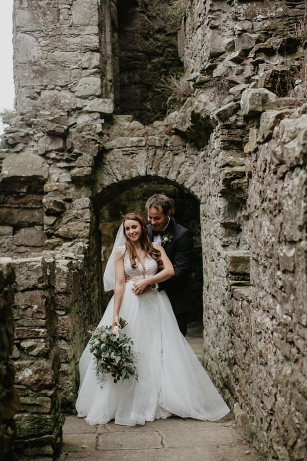 backyard irish castle wedding (1 of 1)