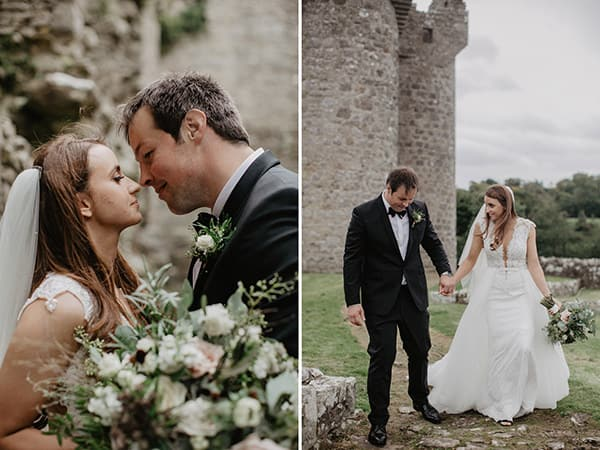 castle elopement ireland