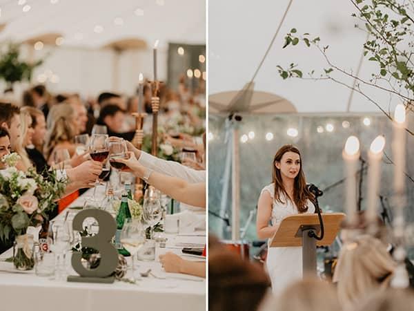 irish backyard intimate wedding photography