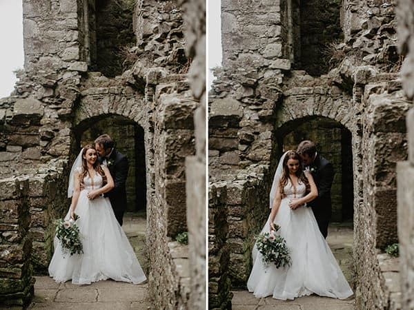 irish castle wedding photography