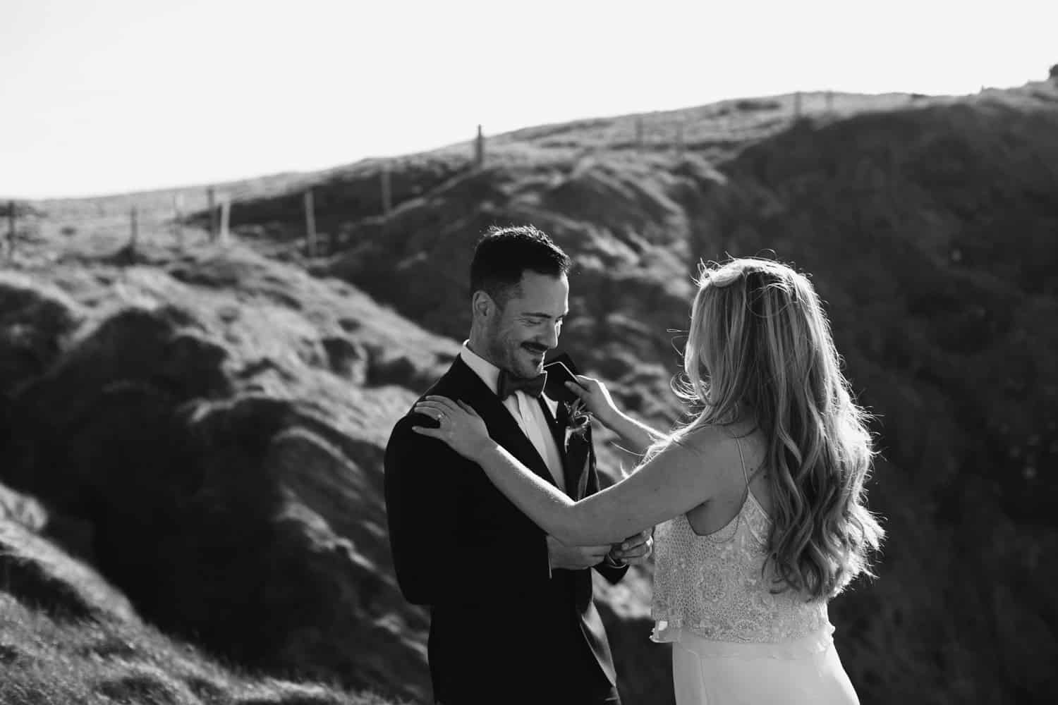 Alexandra and Jason - Dunluce Elopement Northern Ireland photographer