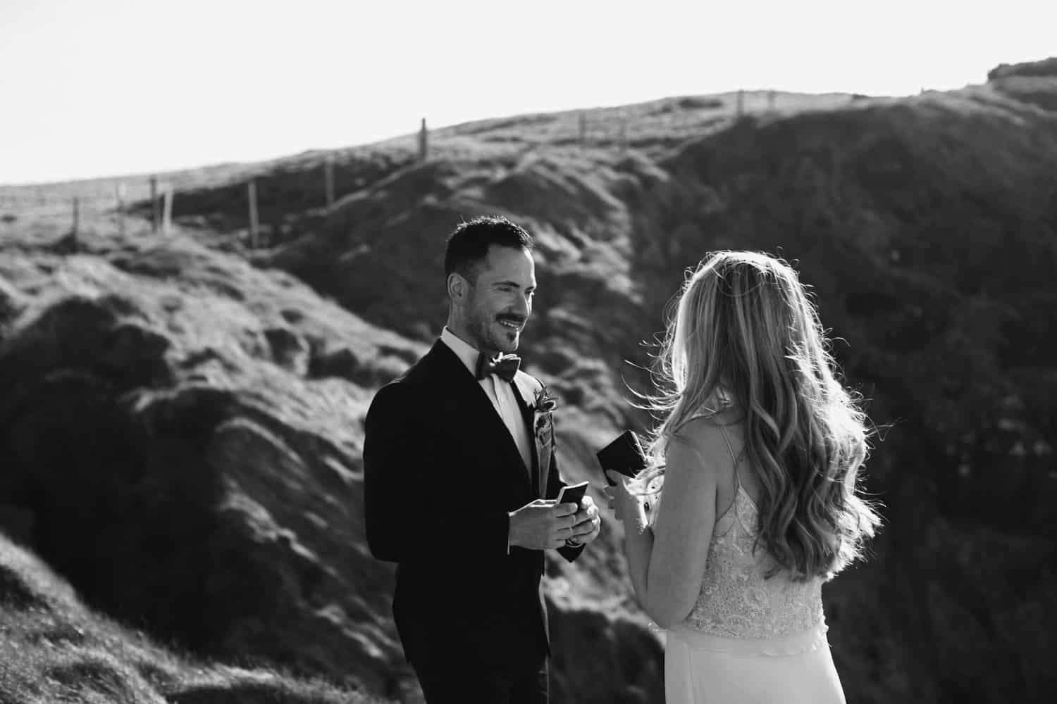 Northern Ireland Elopement at Dunluce Castle