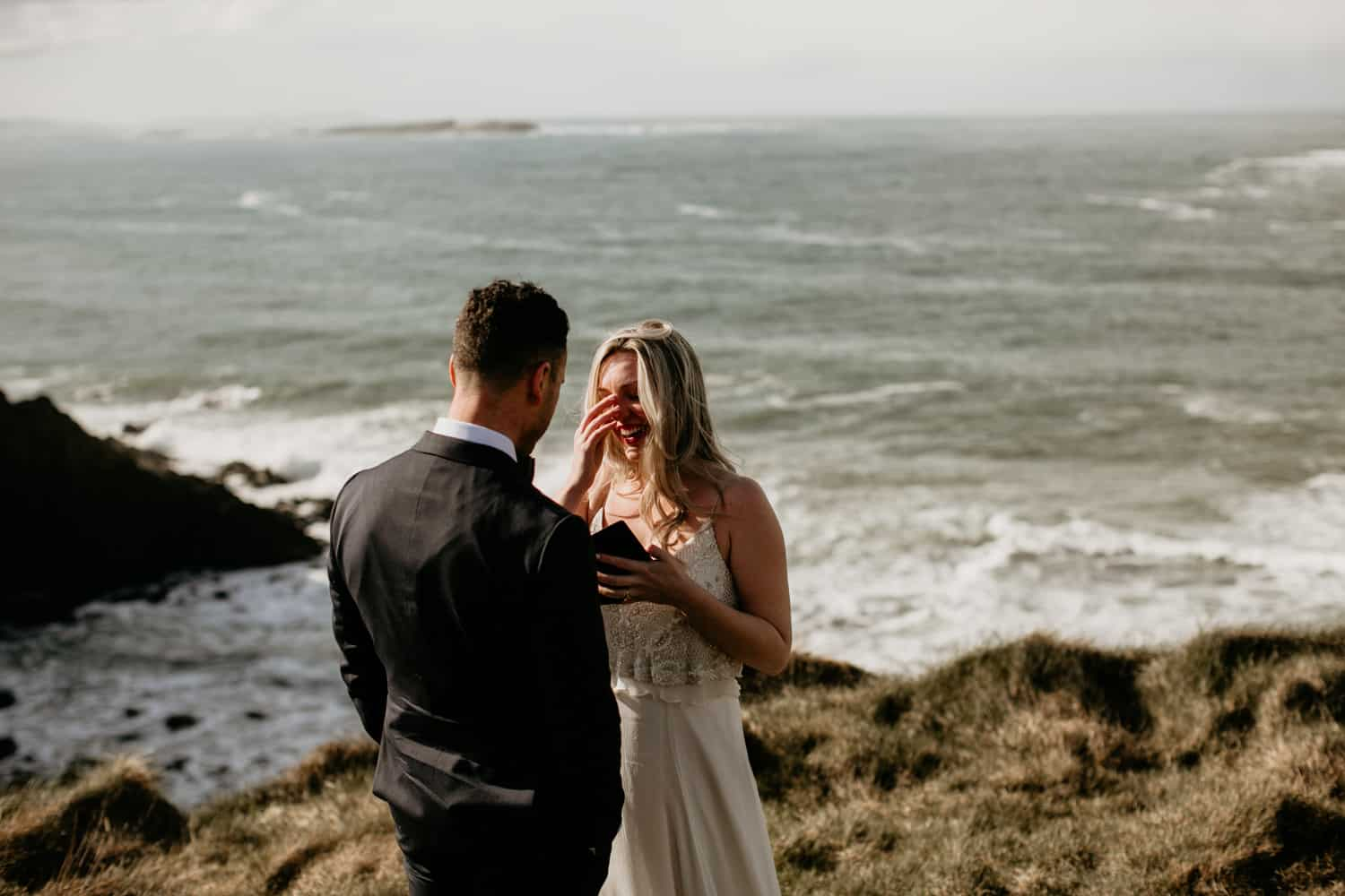 Vows elopement Northern Ireland