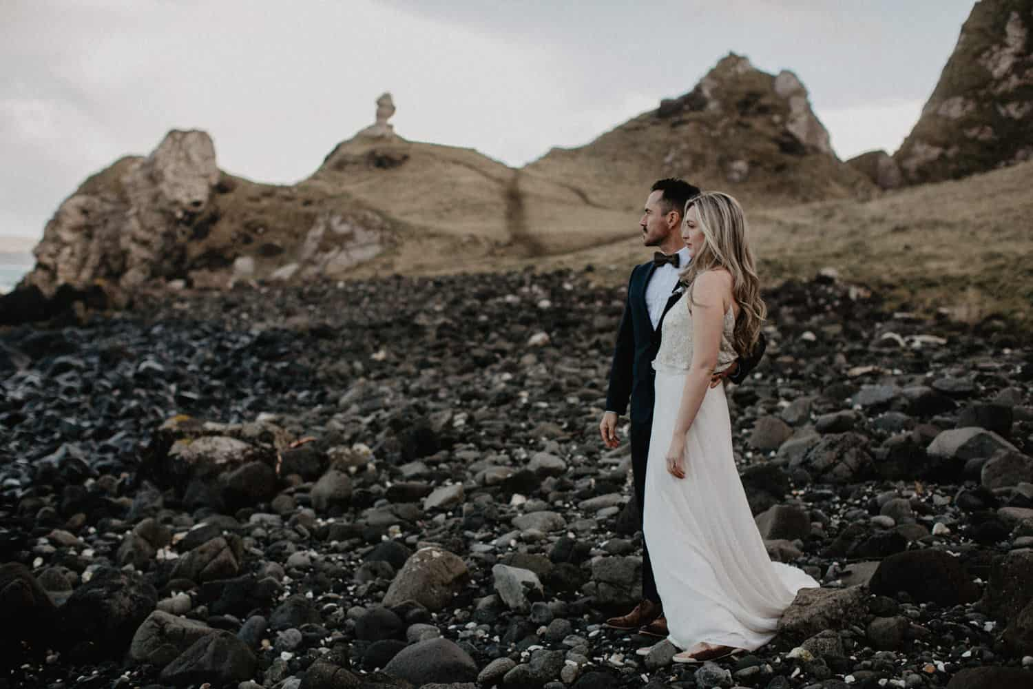 Kinbane Castle elopement