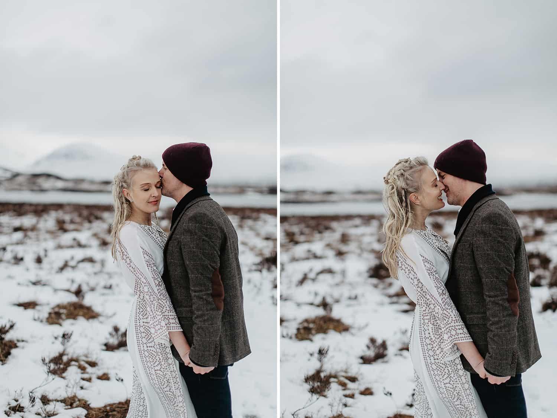 Glencoe adventure session wedding photographer