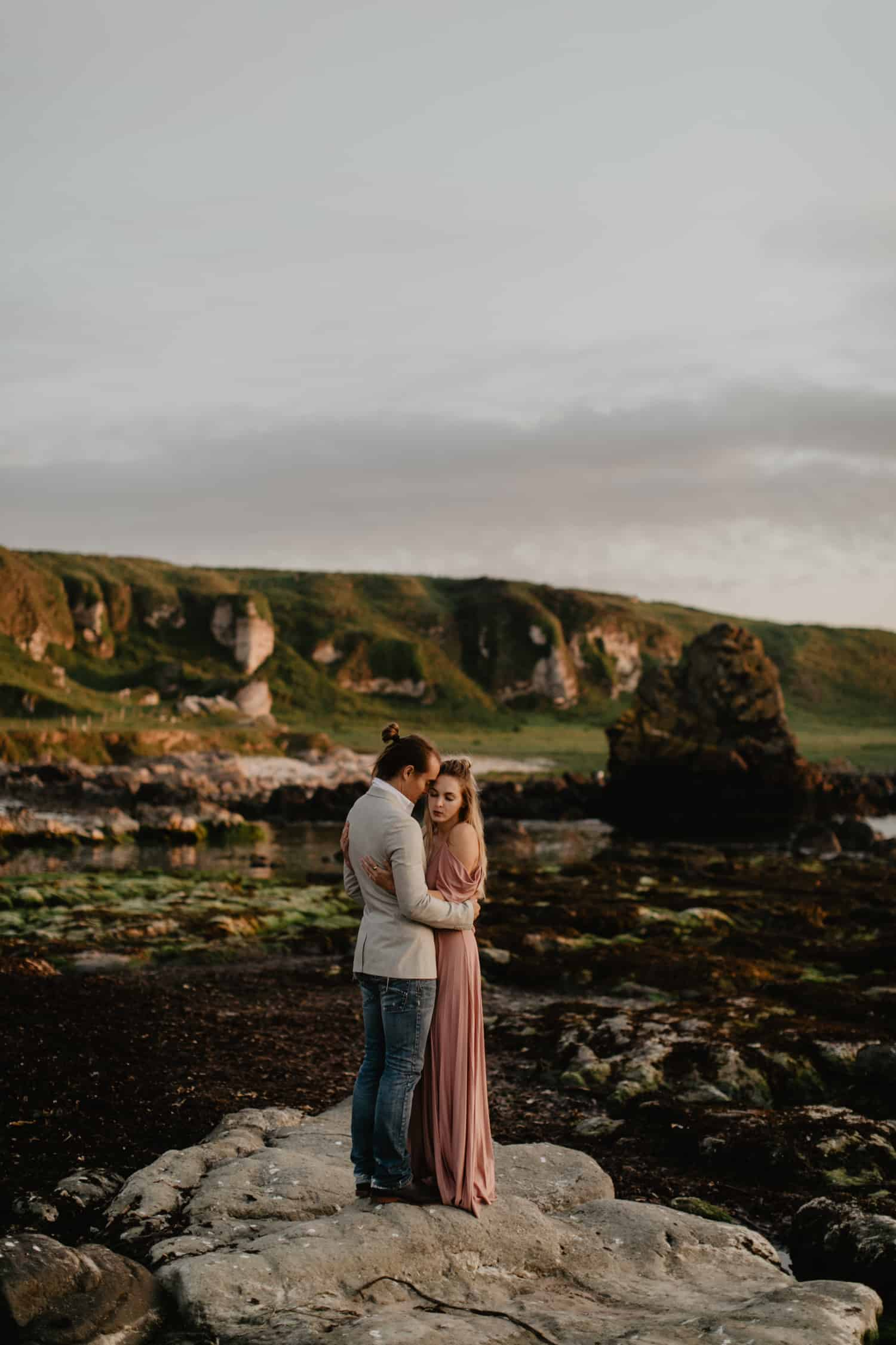 Leighanne and Jeremy - Northern Ireland Adventure Session