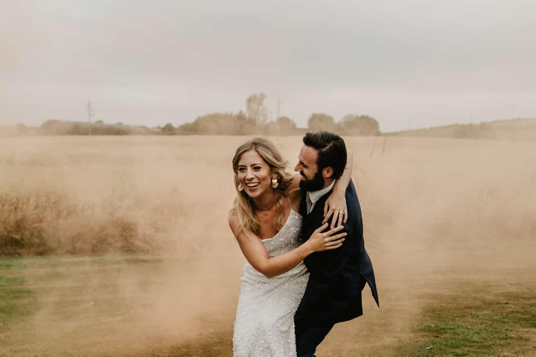 Irish barn wedding