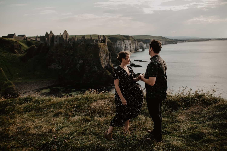 Emily & Brent / Dunluce Castle