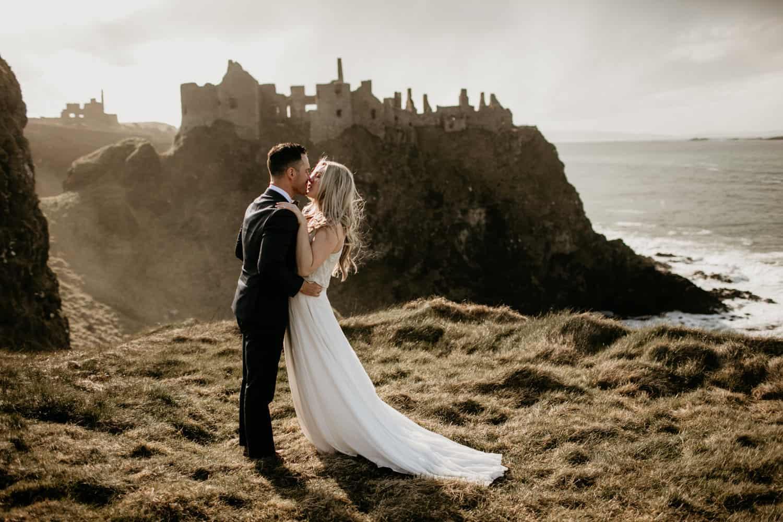 Ireland elopement- Dunluce castle