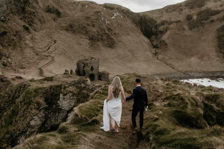 causeway coast wedding and elopement photographer Northern Ireland