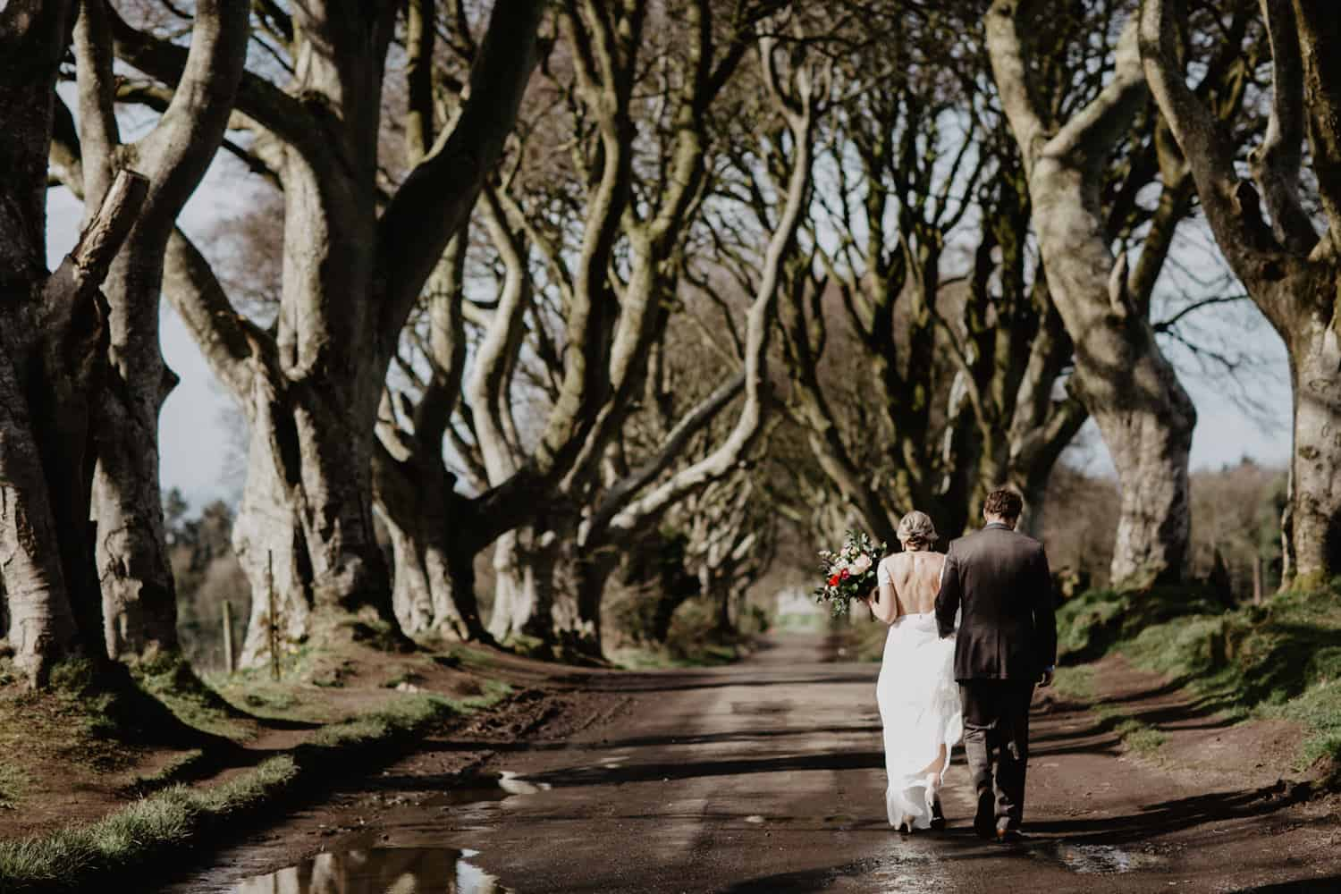 elopement Northern Ireland Kinbane Castle