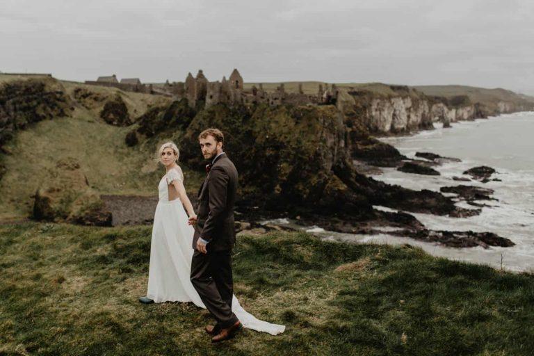 Dunluce Castle Elopement / Daisy & Craig