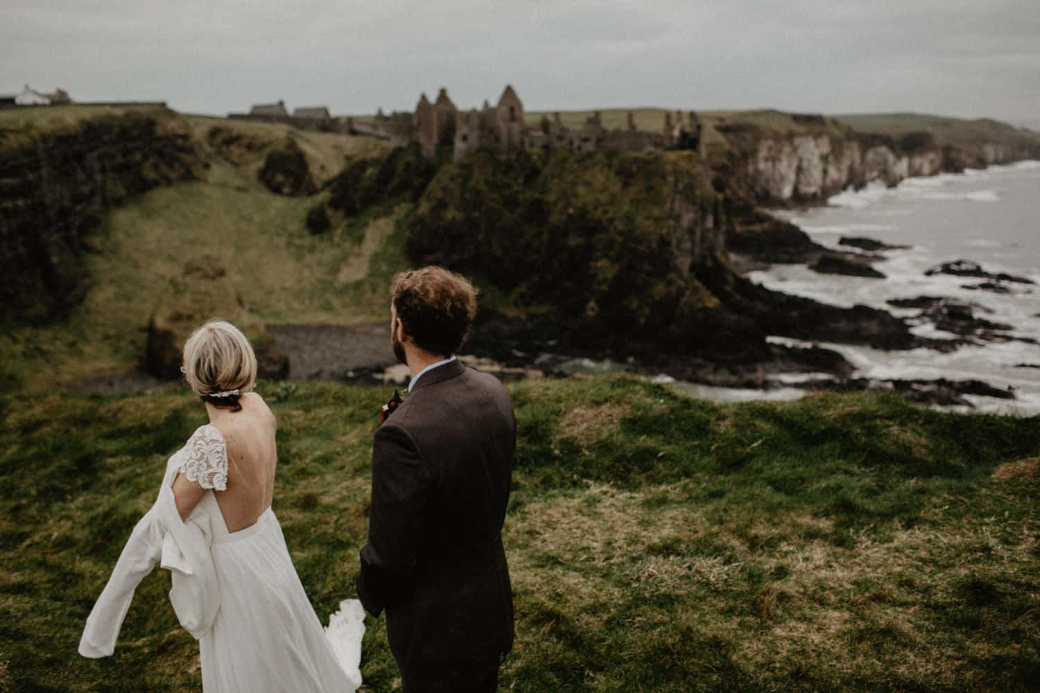 elope to Ireland Dunluce castle