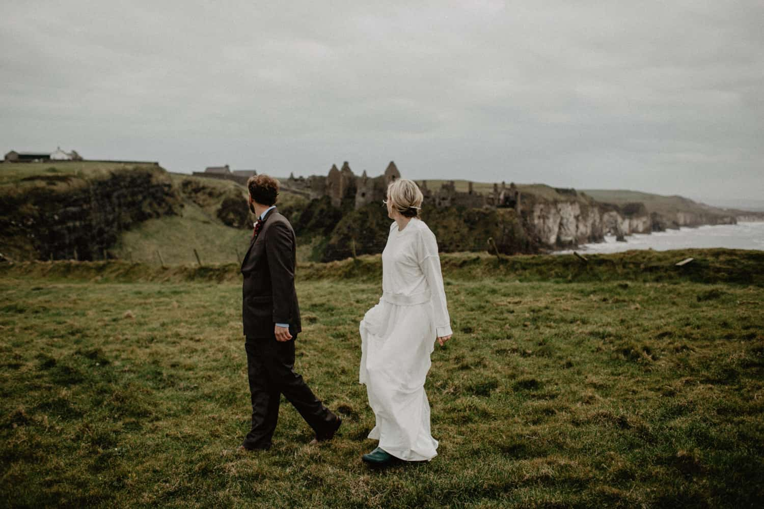 elopement northern ireland dunluce castle