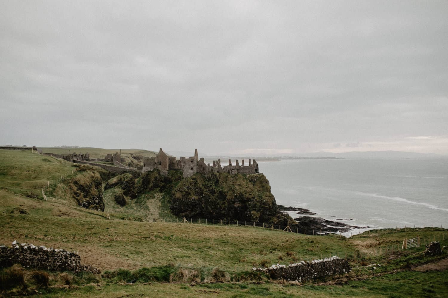 Dunluce Castle Elopement photographer Northern Ireland