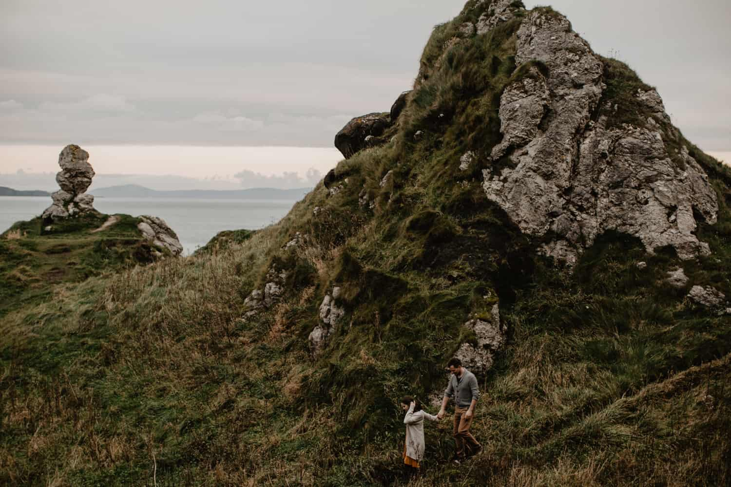adventurous elopement photographer Northern Ireland