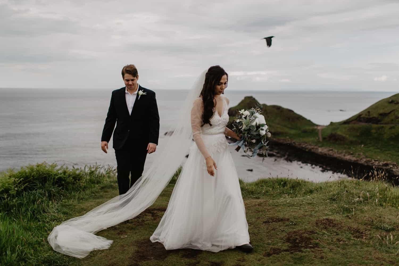Clarissa and Zack - Northern Ireland Elopement