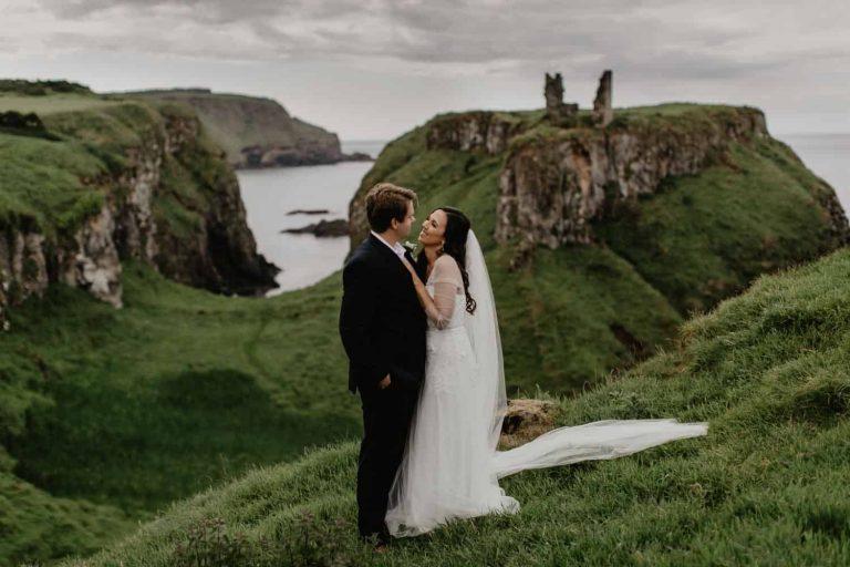 Clarissa and Zack – Northern Ireland Elopement