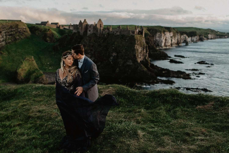 Dunluce Castle Vow Renewal