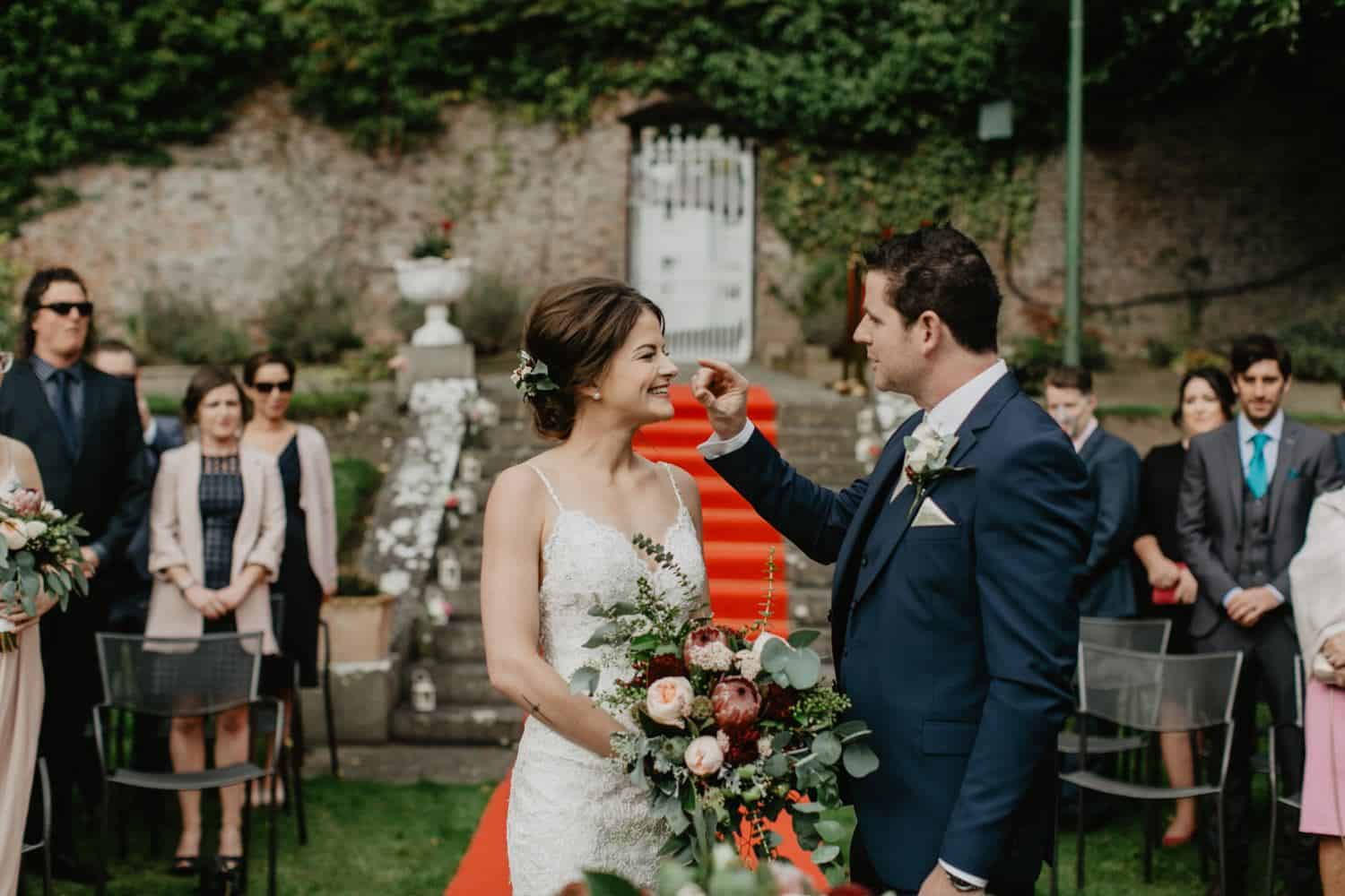outdoor wedding Ireland