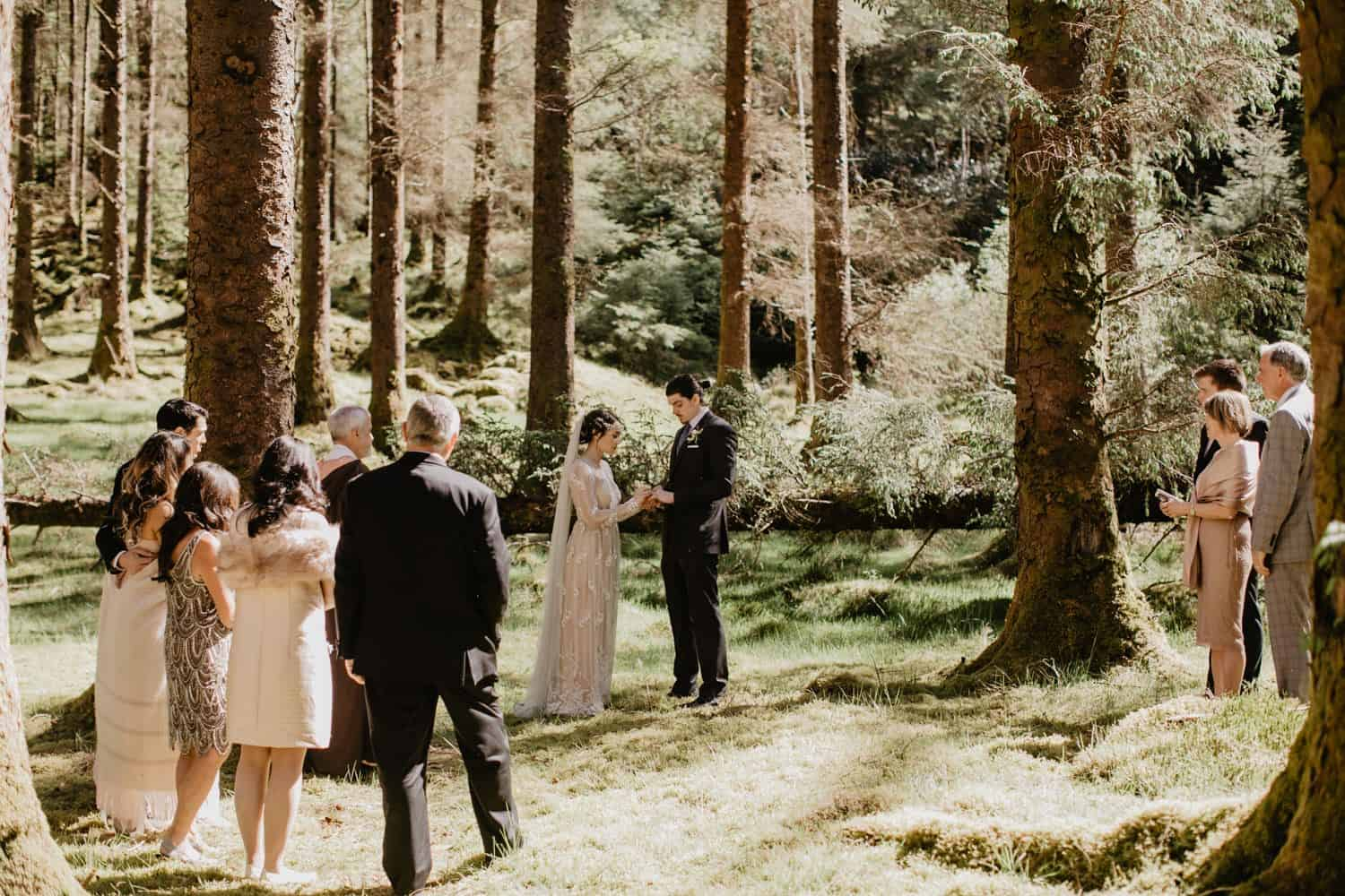 Forest elopement - Ireland