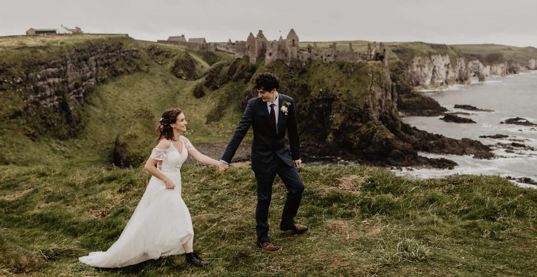Dunluce Castle elopement