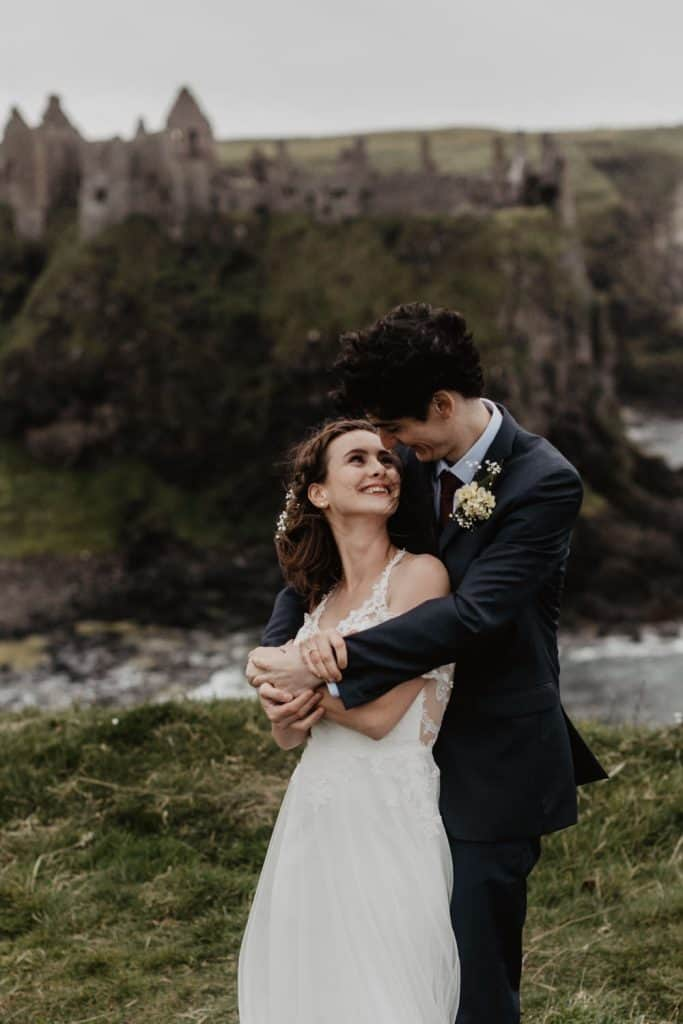 Dunluce elopement photographer