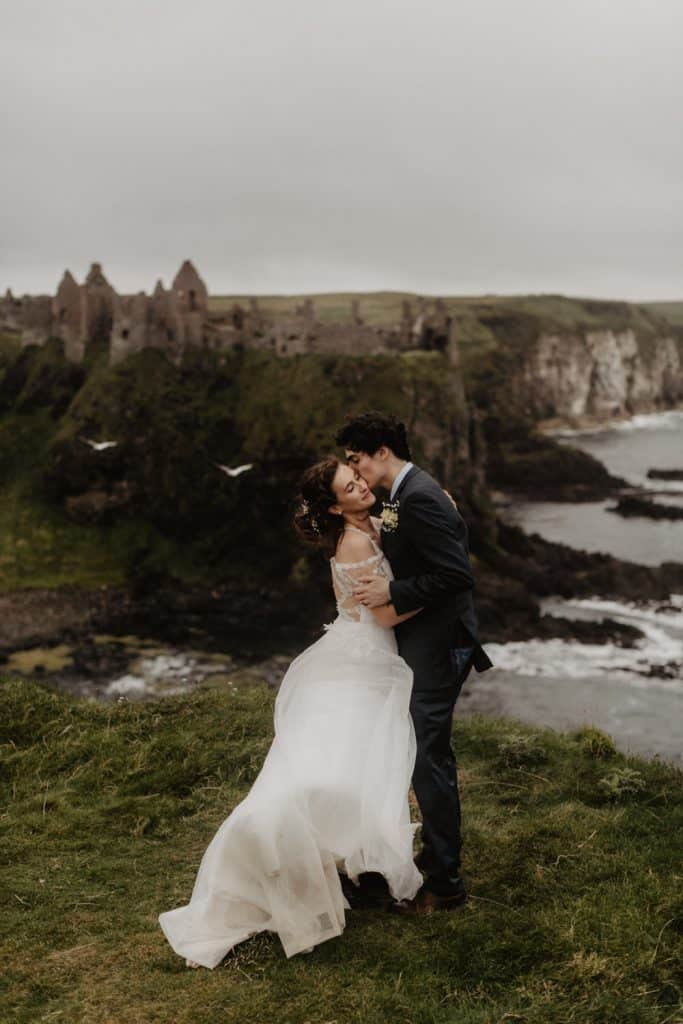 dunluce castle elopement photographer