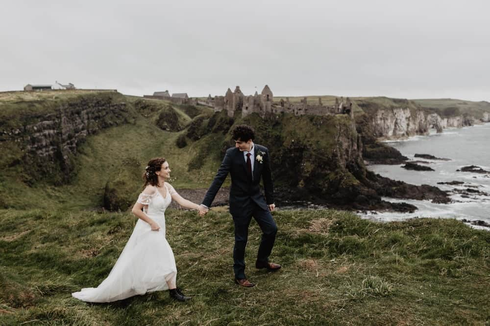 elopement dunluce castle