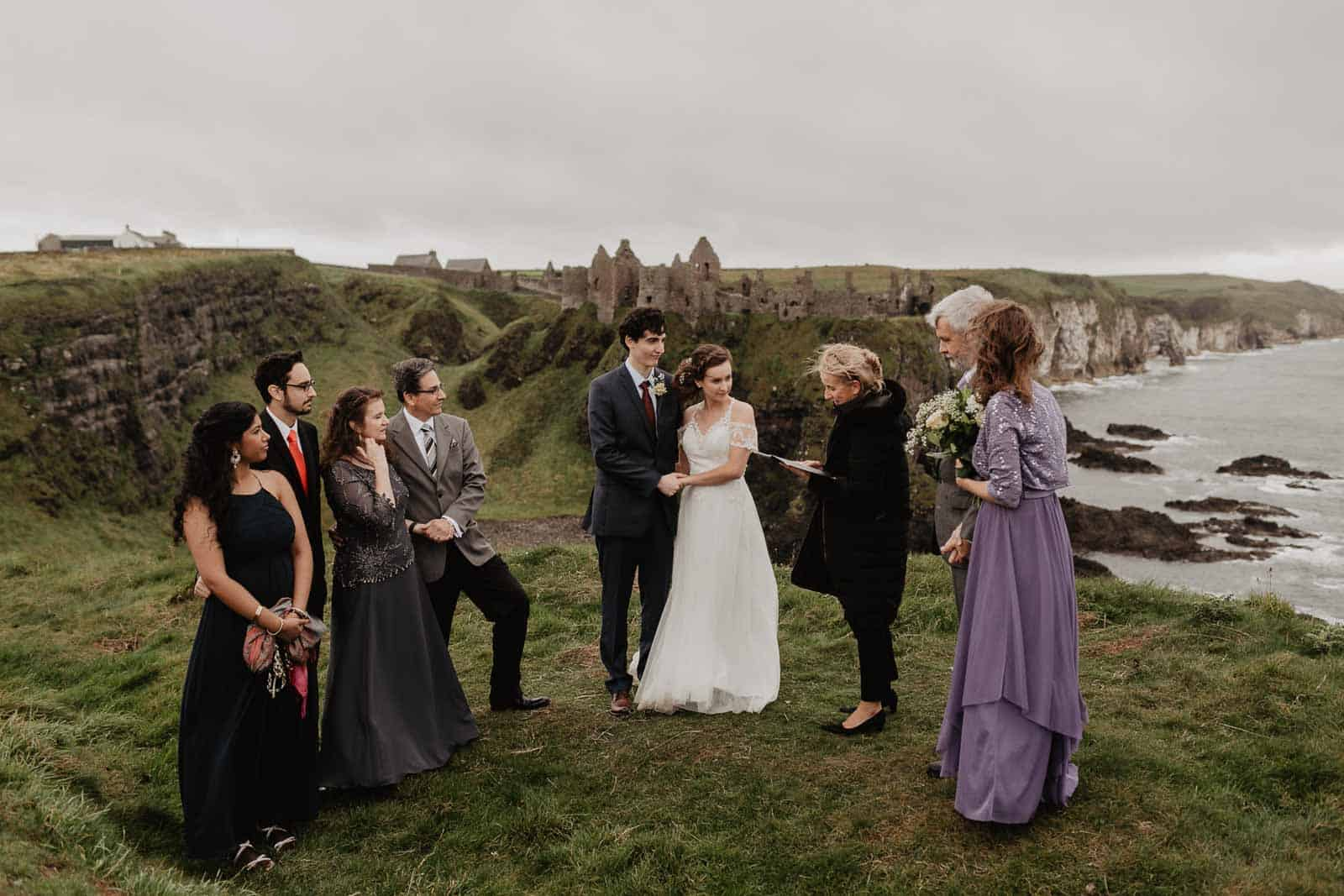 Dunluce Castle Elopement northern ireland