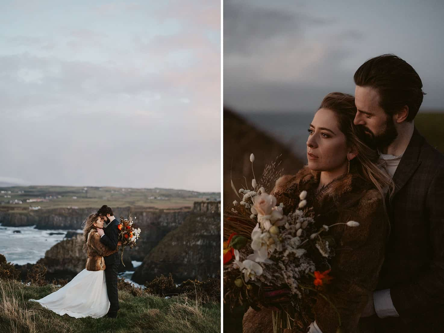Causeway Coast Northern Ireland Elopement Photography
