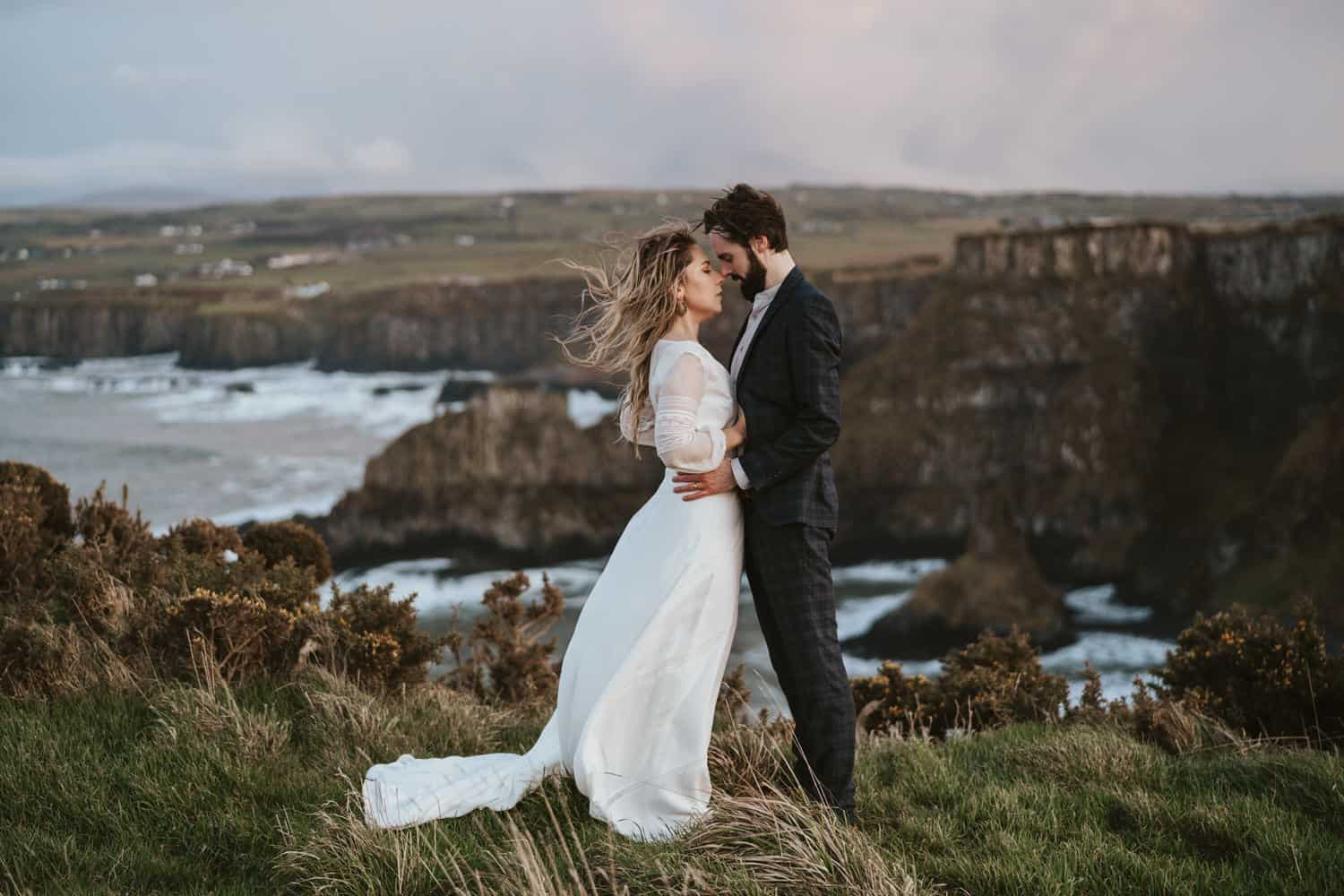 Karen and David / Causeway Coast Elopement