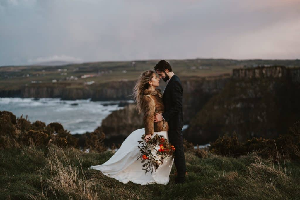 Giants Causeway Coast Elopement