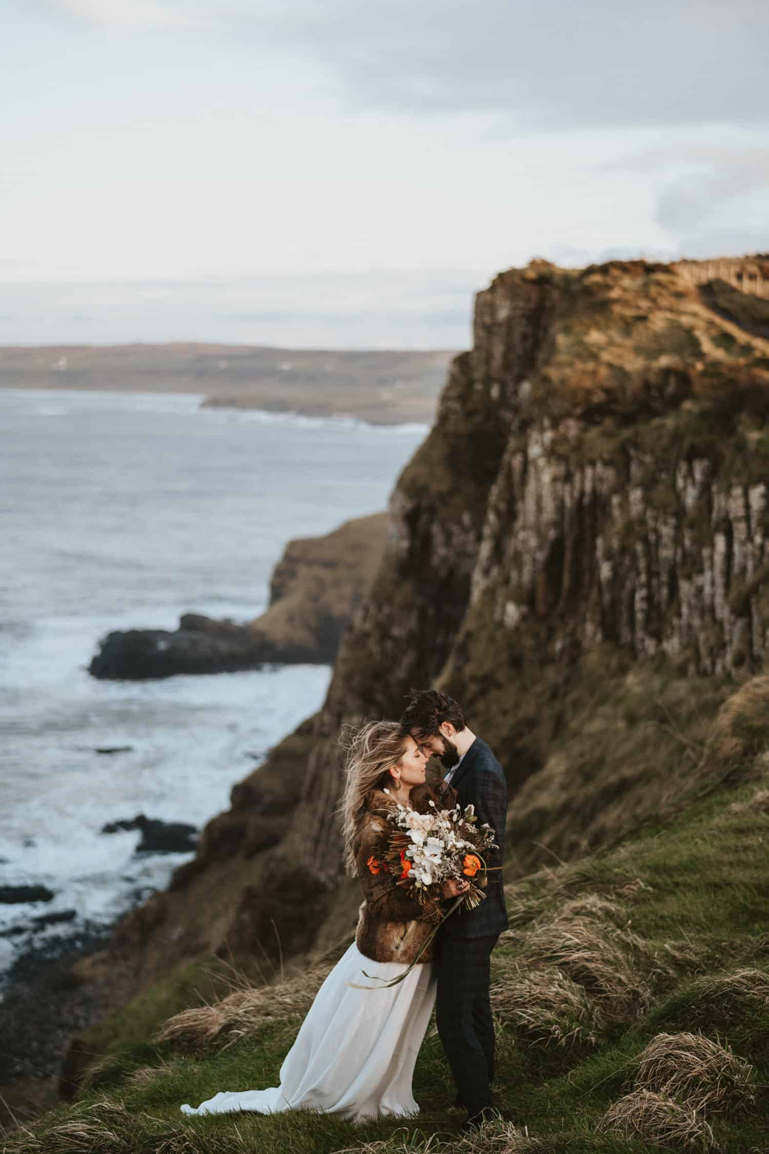 Causeway Coast Northern Ireland wedding photos