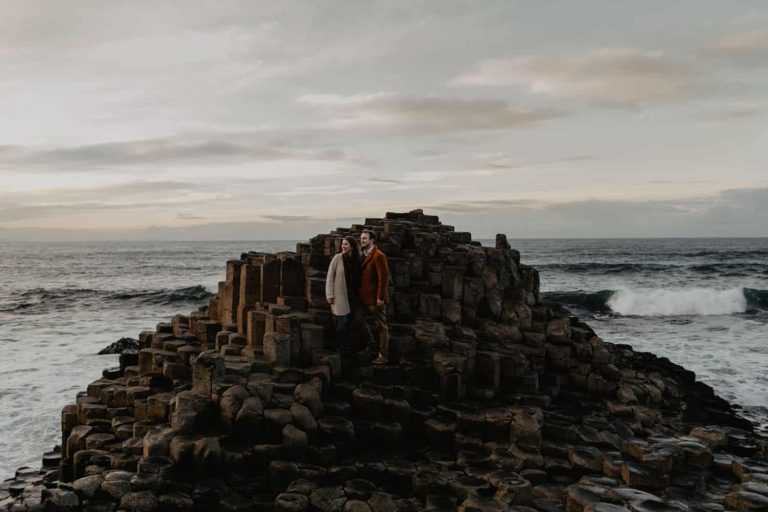 Courtney & Alex – Giants Causeway
