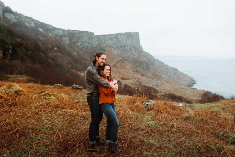 Rachel + Zachary / Adventure session Northern Ireland